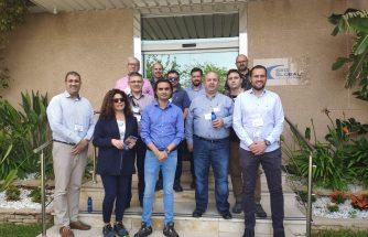 Empresas de IBIAE visitan la planta de SRG GLOBAL en Llíria