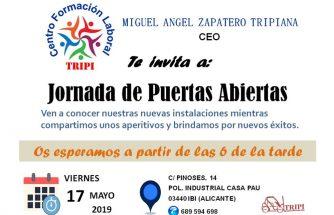 MIGUEL ÁNGEL ZAPATERO TRIPIANA celebra una jornada de puertas abiertas