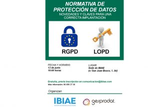 Jornada sobre normativa de protección de datos: novedades y claves para una correcta implantación