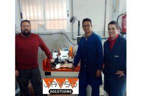 JAYSO SOLUTIONS invierte en equipamiento para apoyar la formación de los alumnos del IES La Foia
