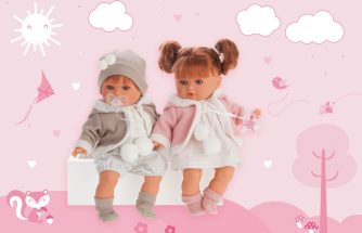 MUÑECAS ANTONIO JUAN incorpora los tejidos orgánicos para vestir sus muñecas