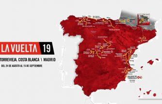 Itinerario de La Vuelta ciclista por la comarca