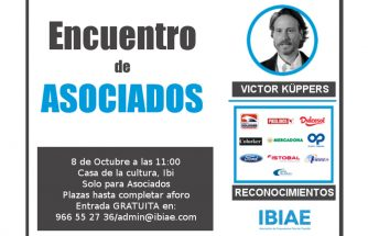 IBIAE reunirá a sus asociados en un encuentro con Víctor Küppers