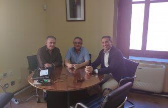 IBIAE se reúne con el alcalde de Castalla