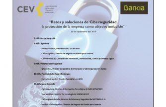 Jornada 'Retos y soluciones de ciberseguridad' de CEV