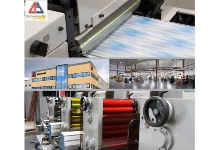 ADHESIVAS IBI mejora su calidad y productividad con una nueva máquina offset y un equipo de visión artificial