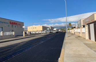 Obras de asfaltado en polígonos de Ibi (02/12 al 05/12)