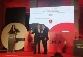 ACTIU, Premio Internacionalización de Economía 3