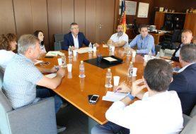 La Plataforma por la Reindustrialización Territorial se reúne con el conseller Climent