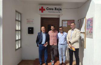 IBIAE visita la Asamblea Local de Cruz Roja