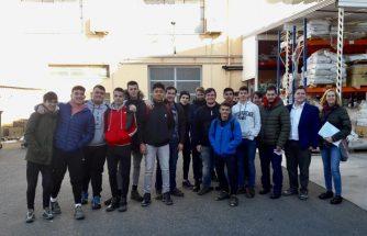 Estudiantes del IES La Foia visitan CLR