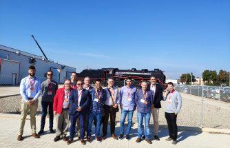 Empresarios de IBIAE visitan las instalaciones de Stadler Rail