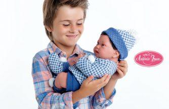 MUÑECAS ANTONIO JUAN se une a la campaña por la igualdad de género en el juguete de Toy Planet