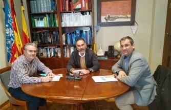 Reunión con el alcalde de Ibi