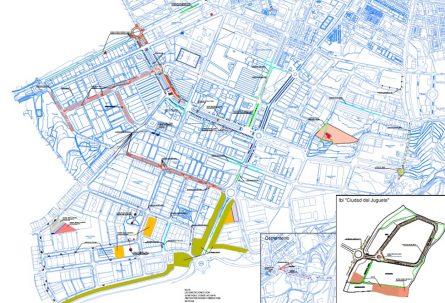 Obras en polígonos industriales de Ibi (18-23 noviembre)