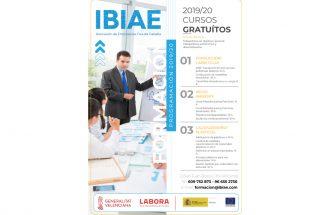 Cursos gratuitos en IBIAE de conducción/carretillas, medioambiente y calidad/diseño/plásticos