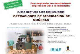 Curso gratuito de operaciones de fabricación de muñecas