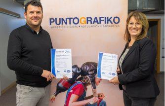 PUNTOGRAFIKO obtiene las certificaciones ISO 9001 y 14001
