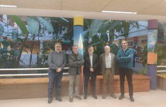 IBIAE se reúne en el IES La Foia de Ibi con el director general de FP