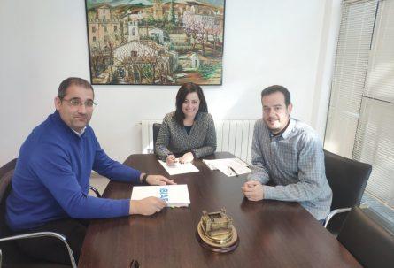 IBIAE repasa con el concejal de Industria de Onil las inquietudes del tejido empresarial