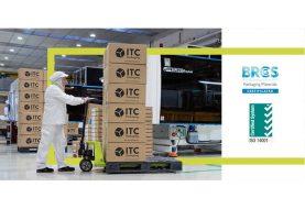 ITC PACKAGING recibe la certificación ISO 14001 y renueva el sello BRC