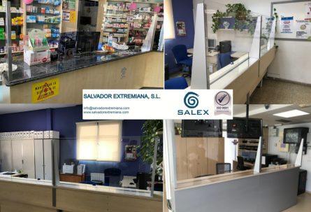 SALVADOR EXTREMIANA pone en marcha la fabricación de pantallas protectoras de coronavirus