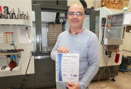 SALVADOR SANCHIS implanta la ISO 9001