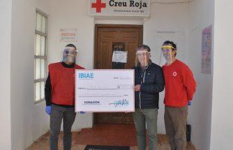 IBIAE dona 49.505 euros a la Asamblea Comarcal de Cruz Roja