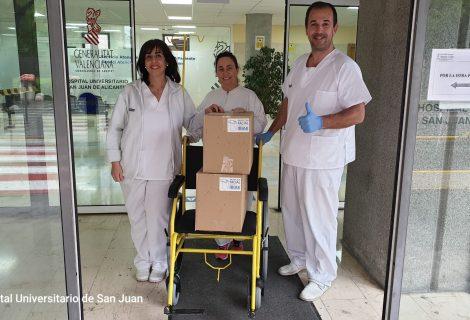 IBIAE y el Ayuntamiento de Ibi colaboran para que las pantallas de protección facial también sean distribuidas en comercios locales, empresas y centros hospitalarios