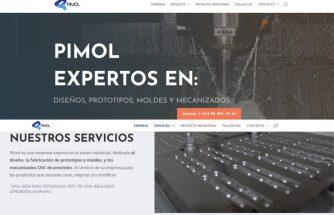 PIMOL renueva y actualiza su web