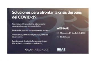 Soluciones para afrontar la crisis después del COVID-19
