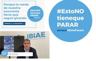 IBIAE apoya la campaña #EstoNOtienequePARAR y pone de ejemplo la capacidad de reconversión de las empresas de la Foia de Castalla