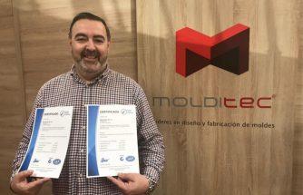 MOLDITEC obtiene los certificados ISO 9001 e ISO 14001