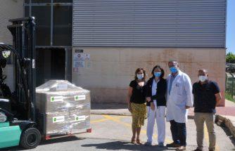 ECO-TERMOPLÁSTICOS dona 3000 conjuntos de su paleta WC al Hospital Virgen de los Lirios