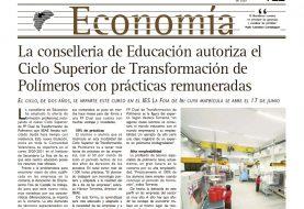 Especial de Economía del periódico Escaparate