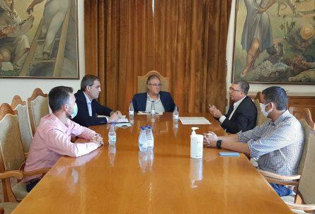 IBIAE se reúne con el conseller Climent y el alcalde de Castalla