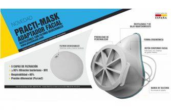 VICEDO MARTÍ lanza al mercado el adaptador facial reutilizable PRACTI-MASK