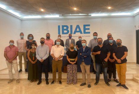Visita de la eurodiputada Inmaculada Rodríguez-Piñero a IBIAE