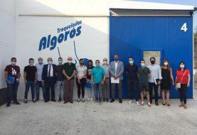 Los alumnos del curso de productividad y liderazgo de IBIAE visitan Troquelados Algoros
