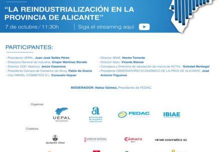 La reindustrialización en la provincia de Alicante