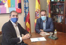 IBIAE se reúne con el alcalde de Ibi