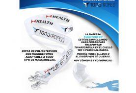 TODOTROFEO desarrolla una línea de cintas para mascarillas