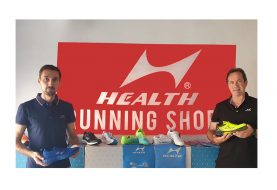 La marca de zapatillas Health aterriza en Europa de la mano de TODOTROFEO
