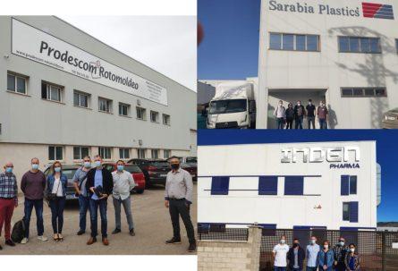 Profesores franceses de FP conocen el potencial industrial de la comarca