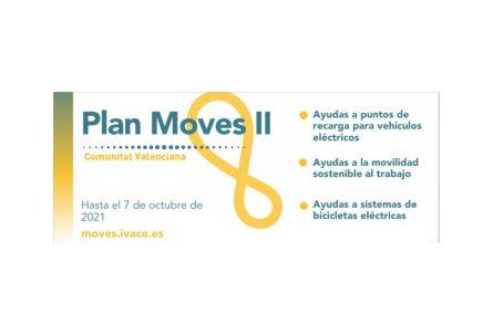 Programa MOVES II- Infraestructura Comunitat Valenciana