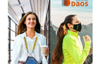 DAOS PUBLICITAT, líderes en fabricación de mascarillas reutilizables certificadas en el sector industrial
