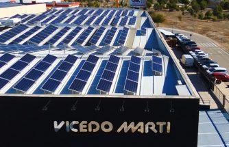 VICEDO MARTÍ apuesta por las energías renovables con placas fotovoltaicas para su autoconsumo