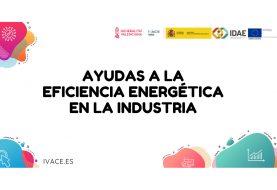 Ayudas a la eficiencia energética en pyme y en gran empresa del sector industrial