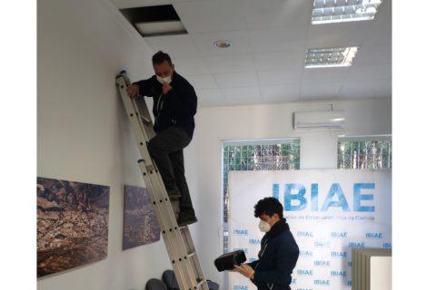 Las instalaciones de IBIAE, libres de plagas tras pasar la última revisión
