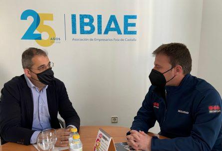 IBIAE y Securitas realizan la reunión de seguimiento de seguridad en los polígonos industriales de Ibi